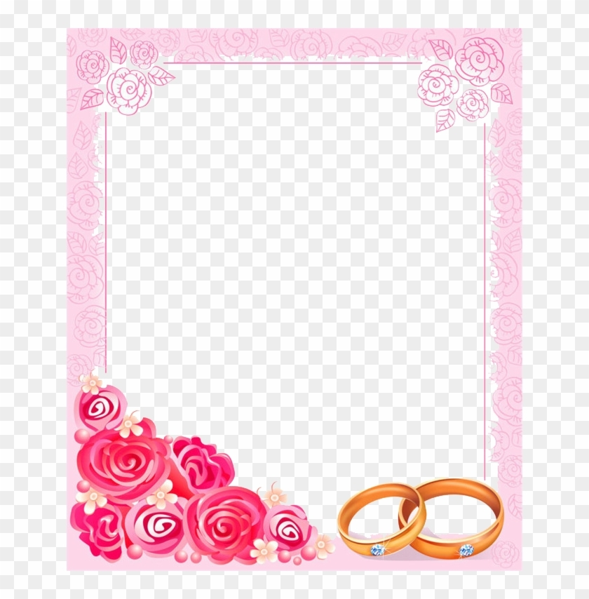 wedding invitation picture frame clip art wedding Borders For Wedding Invitations