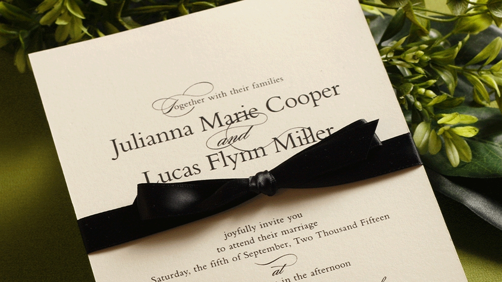 wedding invitation wording guide fast and easy Wedding Invitation Working
