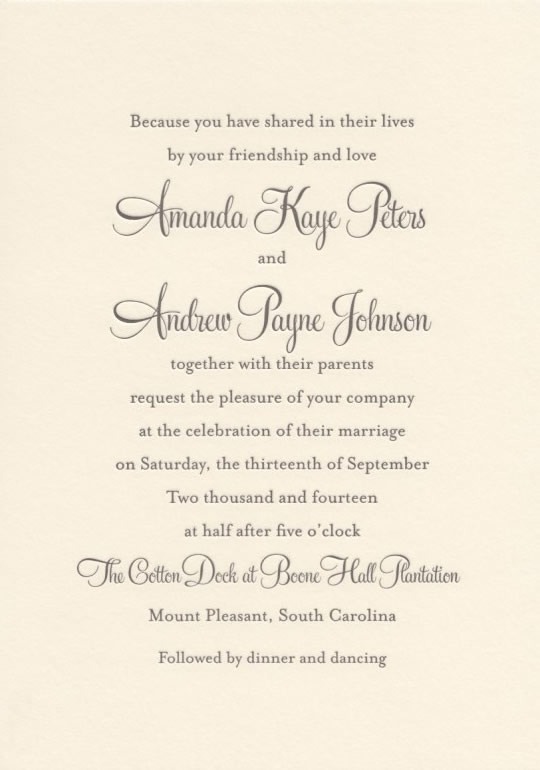 wedding invitations 101 all your questions answered Different Types Of Wedding Invitations