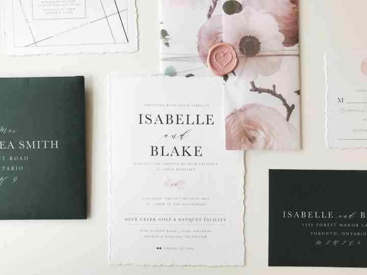 what to include in a wedding invitation What Should Be On A Wedding Invitation