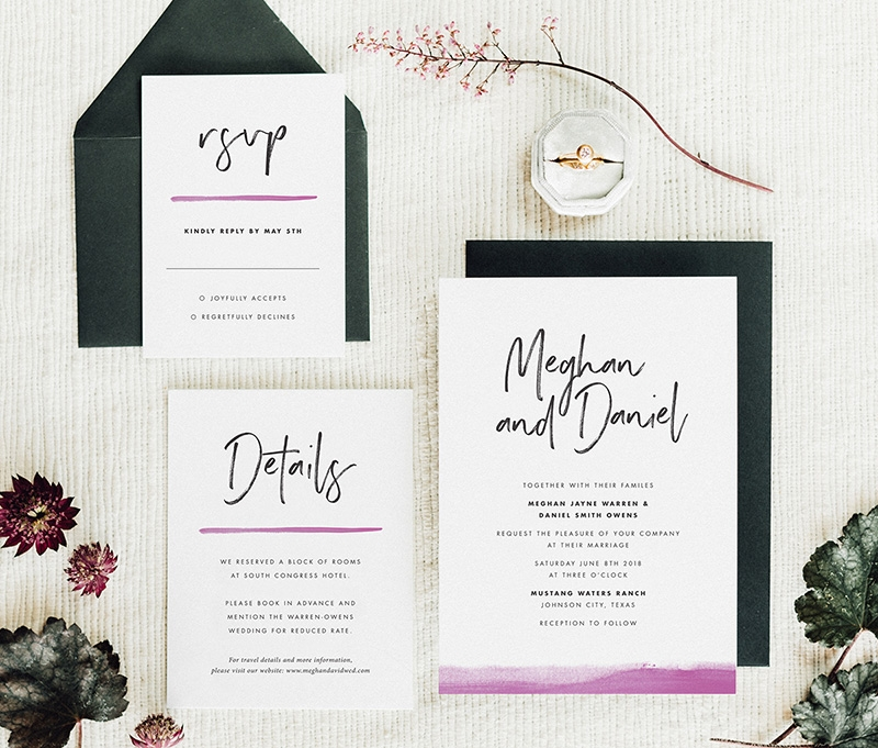 what to include in your wedding invitation suite fine day What To Include In Your Wedding Invitations