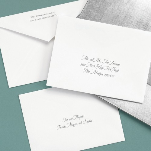 whats the difference between inner and outer envelopes Addressing Informal Wedding Invitations
