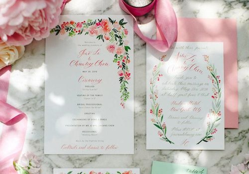 when to send wedding invitations and everything else His And Hers Wedding Invitations