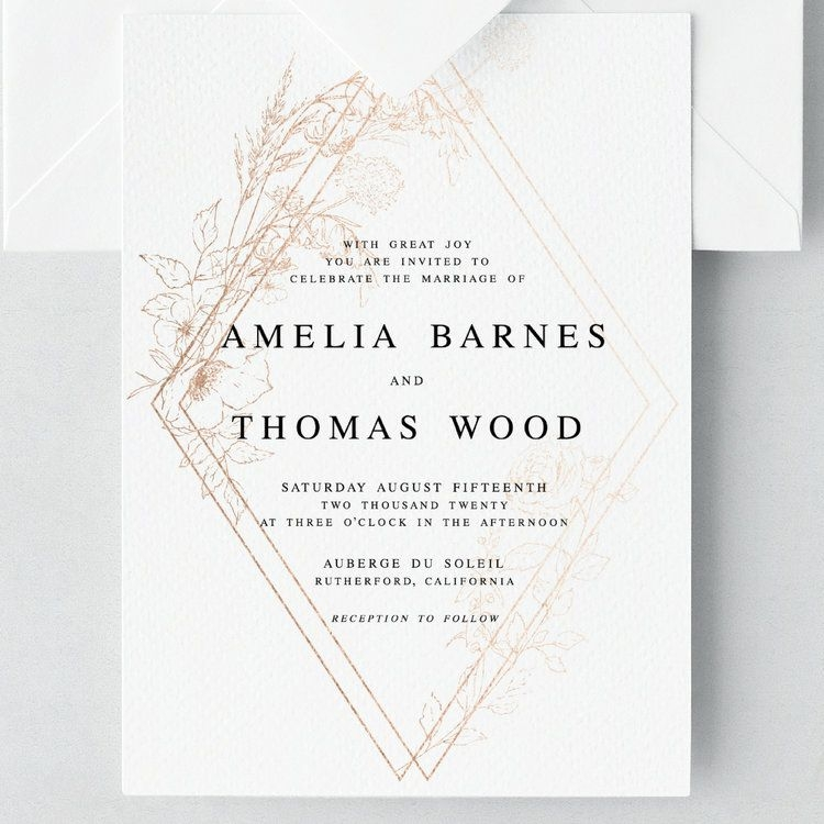 with great joy you are invited to celebrate the marriage of Wedding Invitation Copy