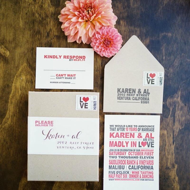 Cool 5 things you need to know about mailing your wedding How To Package Wedding Invitations Design