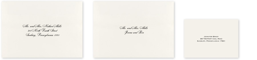 Cool wedding envelope addressing invitations dawn What Is The Inner Envelope For Wedding Invitations