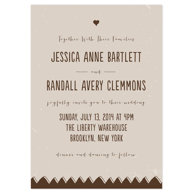 Cozy wedding invitation text how to choose wedding invitat Informal Wedding Invite Wording