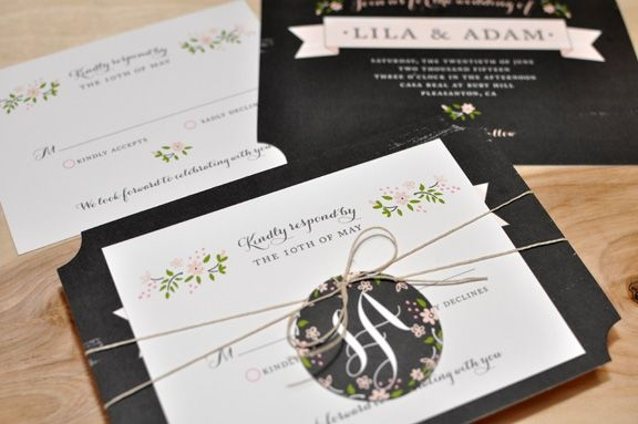 Elegant blog wedding invitations letterpress wedding invitations How To Package Wedding Invitations Design