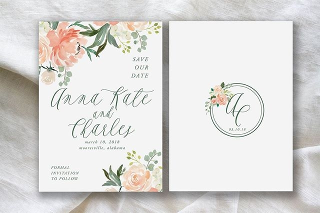 i thought i loved the anna kate invitation but the save the Wedding Invitations Huntsville Al