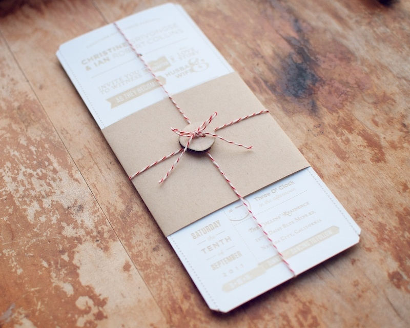 Stylish christine ians diy lasercut woodland wedding invitations How To Package Wedding Invitations Design
