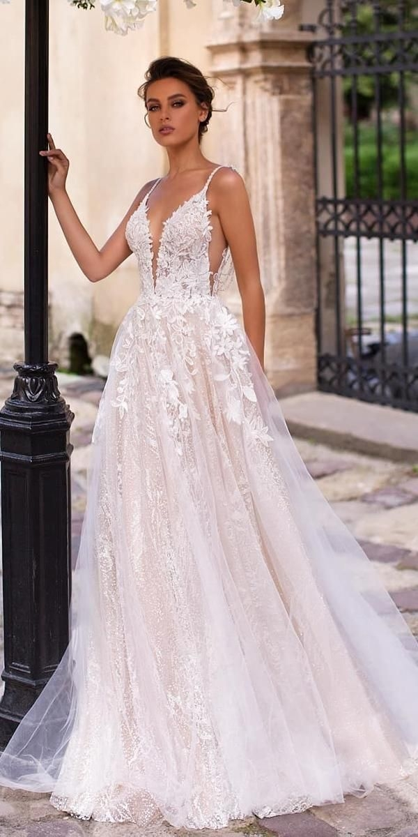 a line wedding dresses 20202021 collections wedding Pretty Latest Wedding Gowns 2021