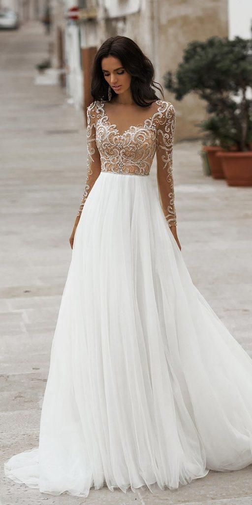 Beautiful 30 best lace wedding dresses with sleeves wedding dresses Beautiful Short Lace Wedding Dresses With Sleeves