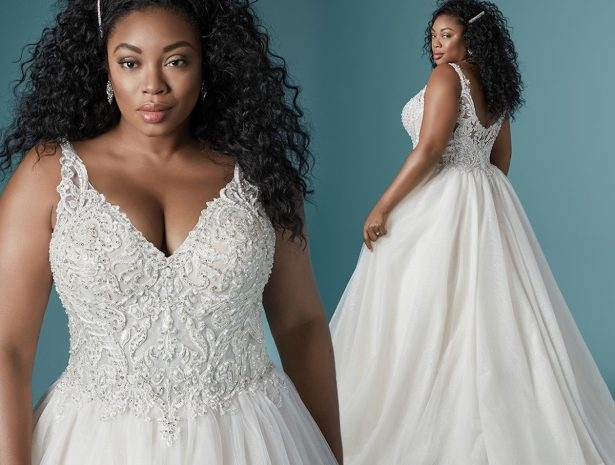 Cool 2020 plus size wedding dress styles for the curvy bride Pretty Beach Wedding Dresses Plus Size Designs