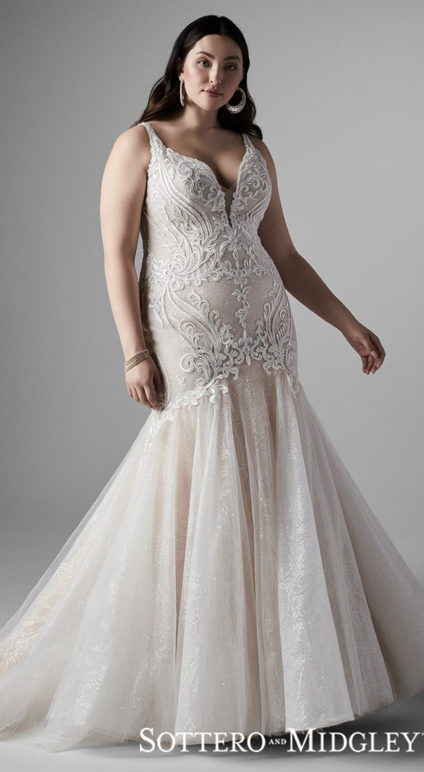 Cool 2020 plus size wedding dress styles for the curvy bride Trendy Designer Plus Size Wedding Dresses Designs