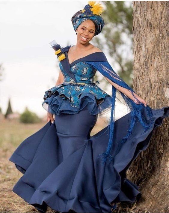 Cozy 20 amazing south african traditional wedding dresses Beautiful African Traditional Wedding Dresses 2021