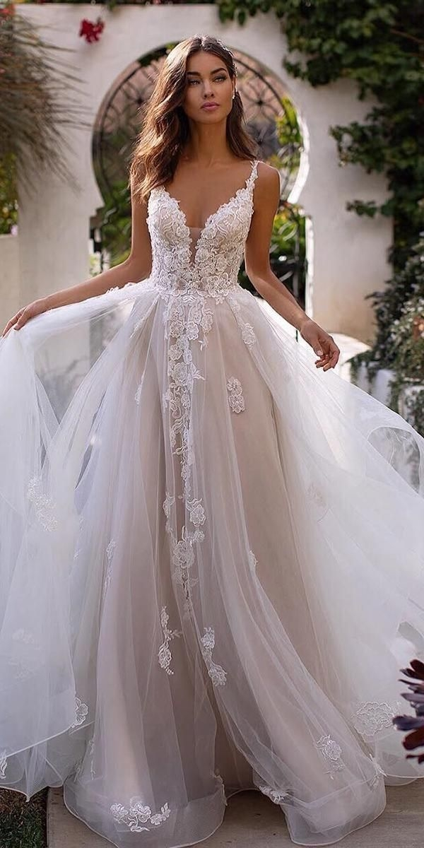 Cozy a line wedding dresses 20202021 collections wedding Pretty Latest Wedding Gowns 2021