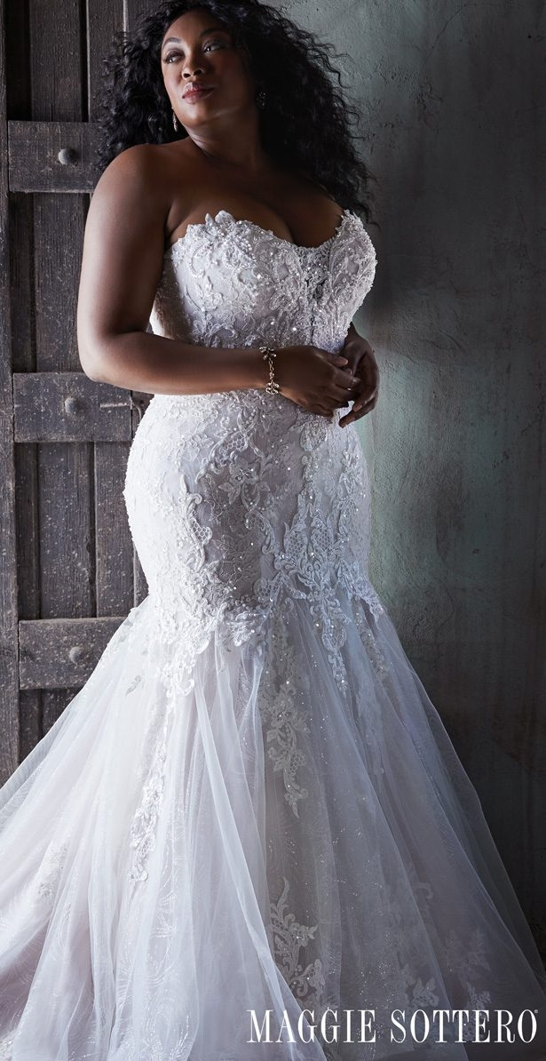 Elegant 2020 plus size wedding dress styles for the curvy bride Trendy Designer Plus Size Wedding Dresses Designs