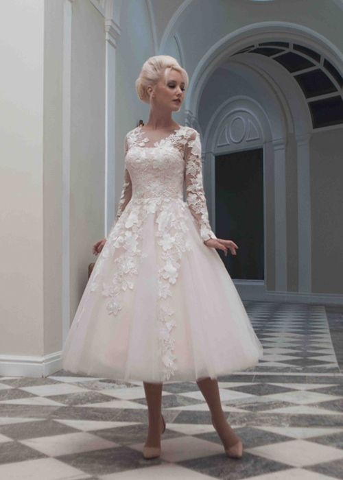 Elegant beautiful elegant timeless and yours wedding dress all Beautiful Short Lace Wedding Dresses With Sleeves