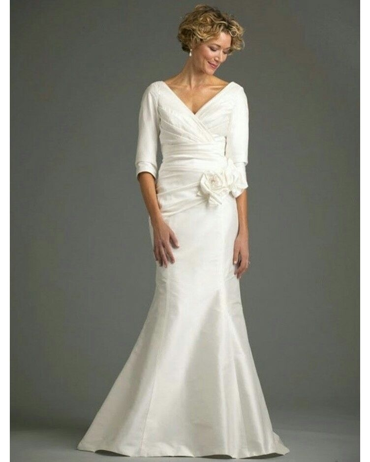 Interesting pin on vestido de noiva Trendy Mature Wedding Dresses Ideas