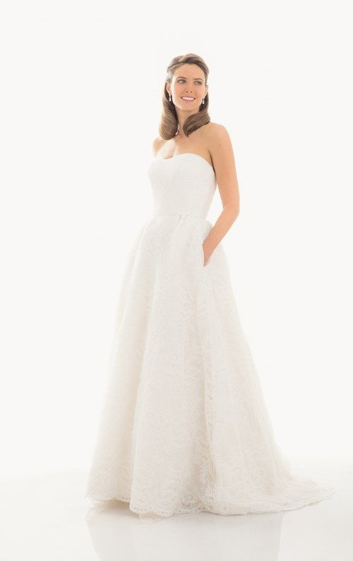 judd waddell sweetheart a line gown in lace Beautiful Judd Waddell Wedding Dresses