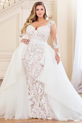 Modern plus size wedding dresses for the most beautiful and curvy Trendy Designer Plus Size Wedding Dresses Designs