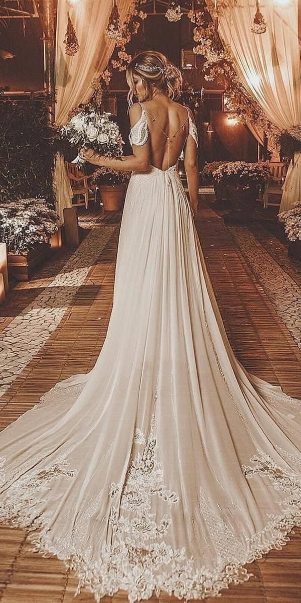 New a line wedding dresses 20202021 collections wedding Pretty Latest Wedding Gowns 2021