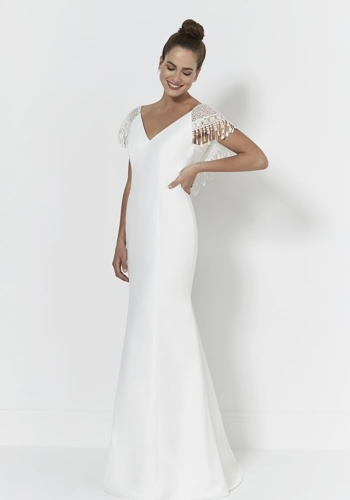 Stylish pin on cernedwebbed Trendy Mature Wedding Dresses Ideas