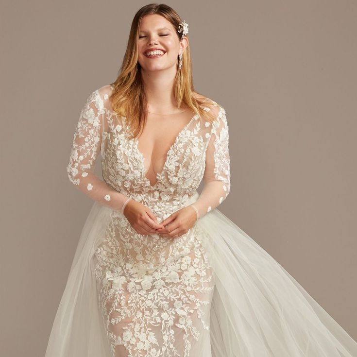Unique 22 best plus size wedding dresses of 2020 Trendy Designer Plus Size Wedding Dresses Designs