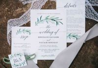 10 popular types of wedding invitation paper and printing Wedding Invitations Printed