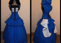 10 tardis dresses for fancy occasions mental floss Tardis Wedding Dress
