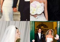 14 celebrities who wore monique lhuillier on their wedding day Catherine Giudici Wedding Dress