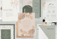 14 modern wedding invitations that prove less is more Where Do I Get Wedding Invitations