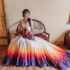 Nice Dip Dye Wedding Dress Gallery