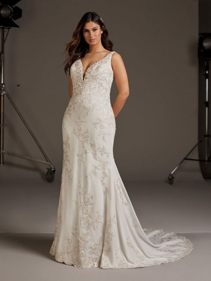 Permalink to Stylish Wedding Dresses For Large Busts Gallery