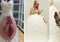 20 of the most shocking wedding dresses ever worn Most Outrageous Wedding Dresses