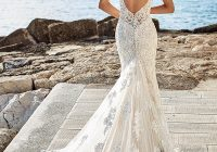 20 stunning open low back wedding dresses for 2020 brides Wedding Dresses With Dramatic Backs