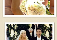 2004 badgley mischka on tori spelling the veil is equally Tori Spelling Wedding Dress