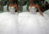 2021 bling bling big poofy wedding dresses custom made plus Big Poofy Wedding Dresses