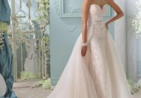 2021 david tutera for mon cheri wedding dresses modwedding David Tutera Disney Wedding Dresses