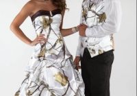 2021 camo wedding dresses with beaded strapless neckline Realtree Wedding Dresses
