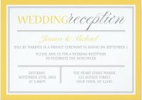 21 beautiful at home wedding reception invitations bridalpulse Invitation For Reception After The Wedding