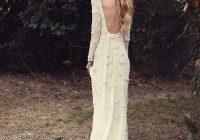 21 effortlessly beautiful boho wedding dresses onefabday Earthy Wedding Dresses