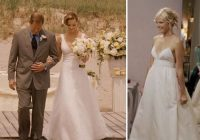 23 movie wedding dresses that stun onscreen more 27 Dresses Tess Wedding Dress