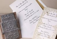 24 diy wedding invitations that will save you money Dyi Wedding Invites