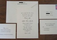 24 excellent image of sending wedding invitations mail Send Out Wedding Invitations