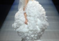 24 of the most hideous wedding dresses to ever have existed Ugliest Wedding Dress
