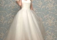 25 of the most beautiful tea length short wedding dresses Fifties Style Wedding Dresses