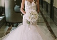 25 super sexy mermaid wedding dresses weddingomania Mermaid Tail Wedding Dresses