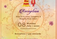 30 royal indian wedding invitation cards free customization E Wedding Invitation