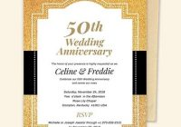 32 50th wedding anniversary invitation designs templates 50th Wedding Anniversary Photo Invitations